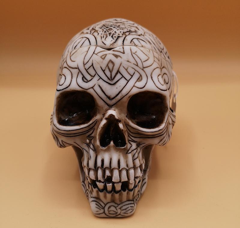 Celtic Skull Box