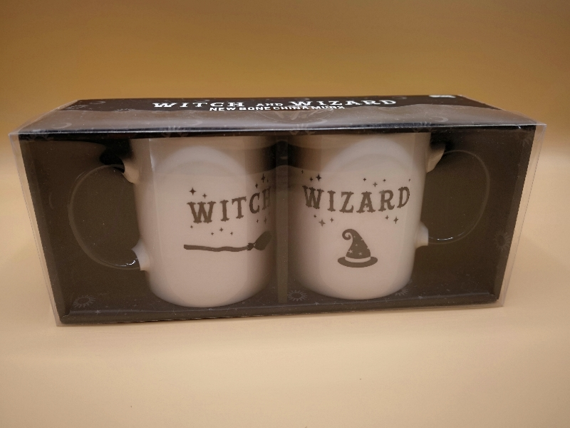 Witch and Wizard Mugs