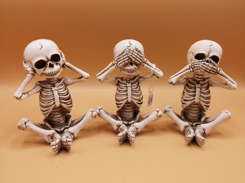 Three Wise Skellywags (Set of 3)
