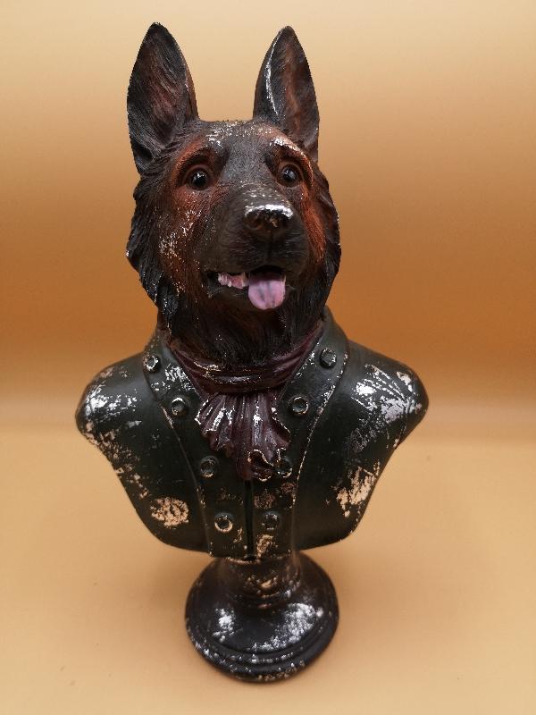 Sparkly Dog Bust