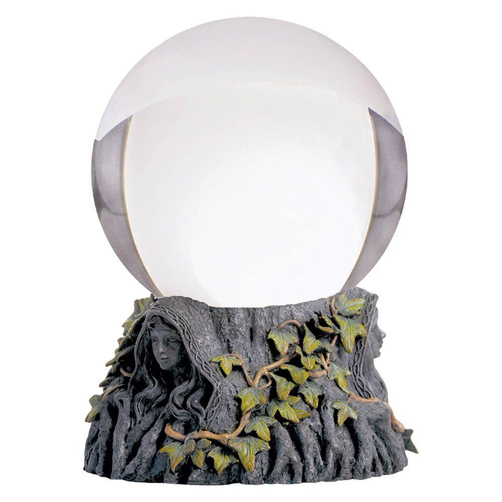 Crystal Ball Stand Maiden Mother Crone including Crystal Ball