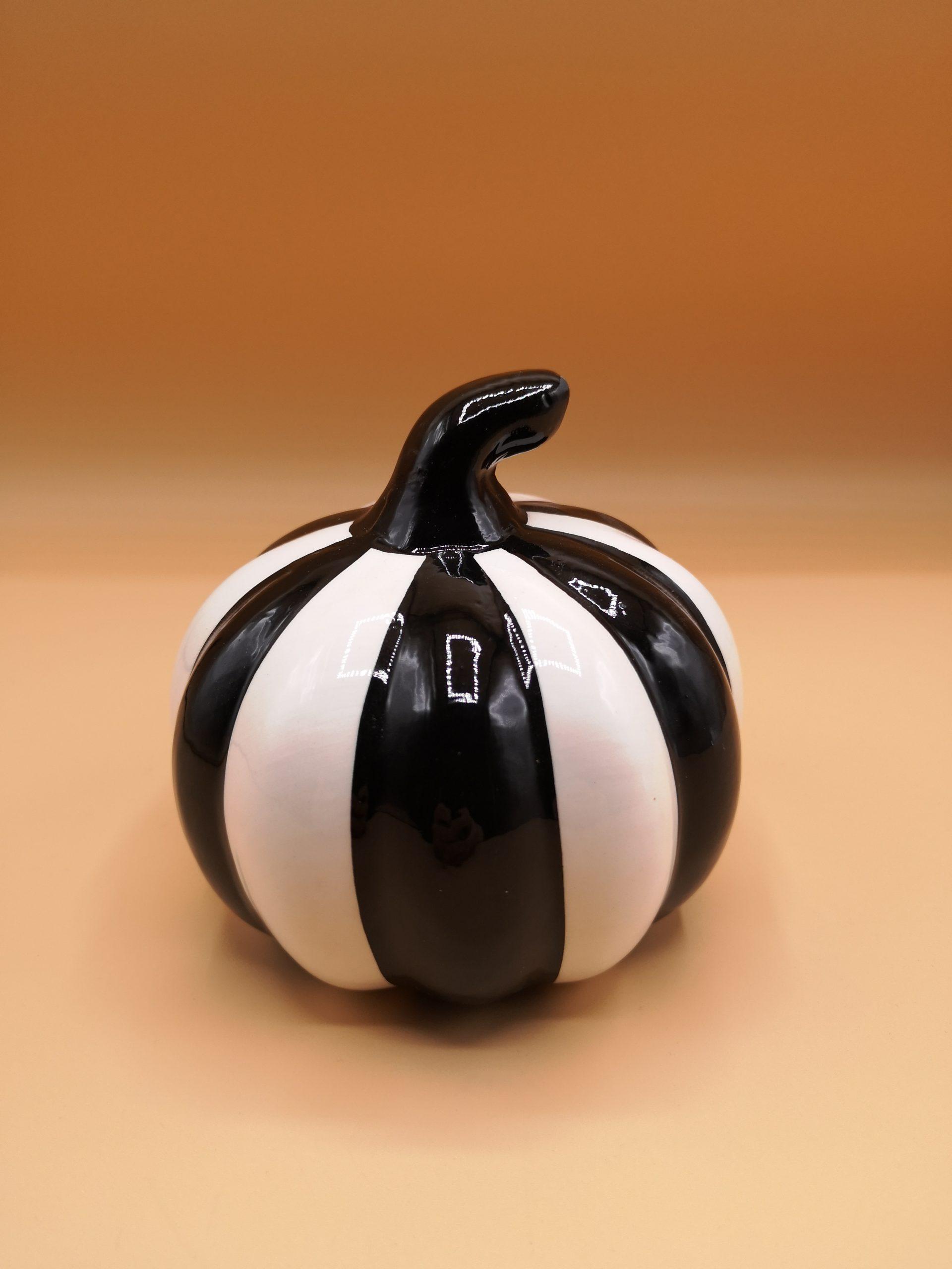 Pumpkin Beetlejuice style