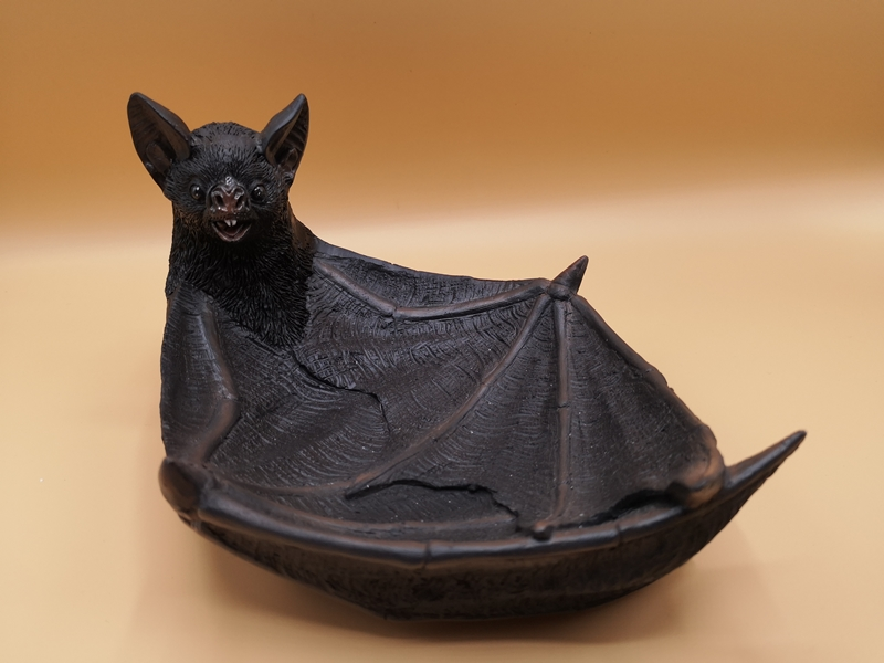 Winged Watcher Bat Trinket Holder Jewellery Dish