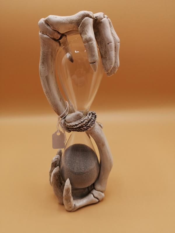 Skeleton Sand Timer Ornament