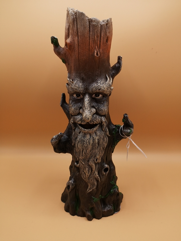 Green Man Tree Spirit Pagan Wiccan Incense Holder