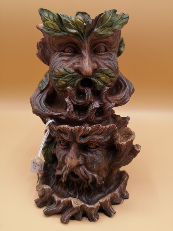 Tree Spirit Backflow Incense Cone Burner